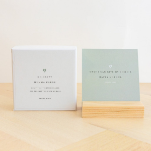Oh Happy Mumma Cards - Birth + New Mum Affirmation Cards