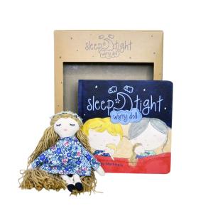 Sleep Tight Worry Doll - Girl